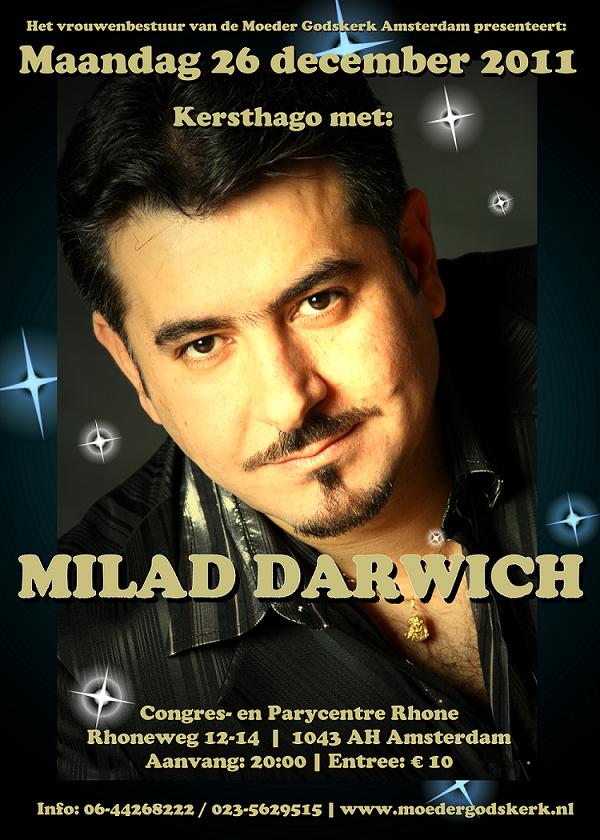 Kersthago met Milad Darwich